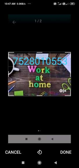 Simple typing work from home with good  earning