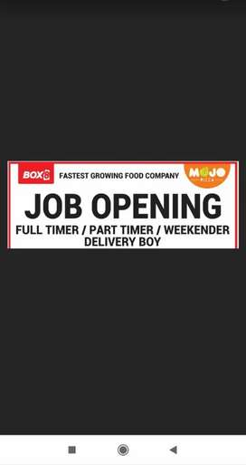 Job Opening Box8-India's fasted-growing food startup.