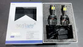 Led lights H4 Car (360 high focus beam led for car)