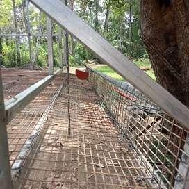 Hight tech hen cage