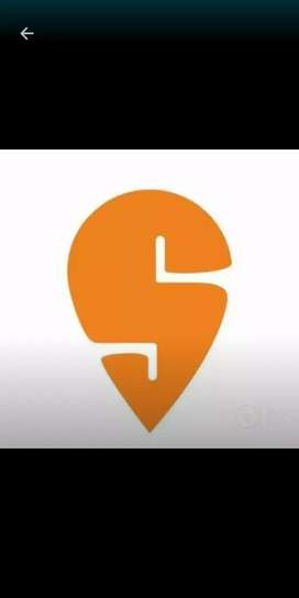 Partime/fulltime job in swiggy food delivery