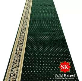 Redy stok karpet masjid import premium bayar stalah barang sampai