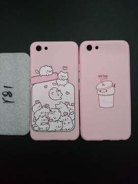 Soft Cutie Pink Case Vivo Y81 Softcase