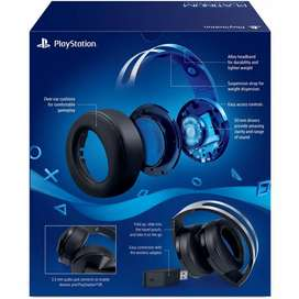 Playstation Platinum Wireless Headset (Work on PS4, PC & PS5)