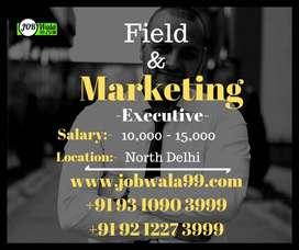 Field & Marketing For North Delhi