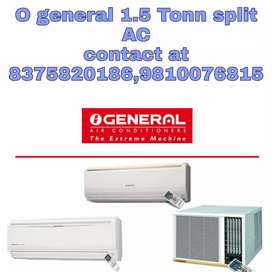 O general split-type a/c with warranty available in 29999/-