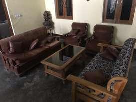 3+2 sofa  wooden 25000/- each set