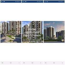 3 bhk / 2bhk/1 bhk flats Daman / Vapi area Pls cont..