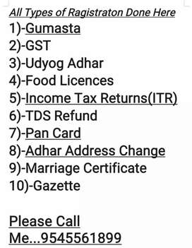 Any types of loan required and ragistration