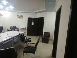 Office and Flat available for Rent