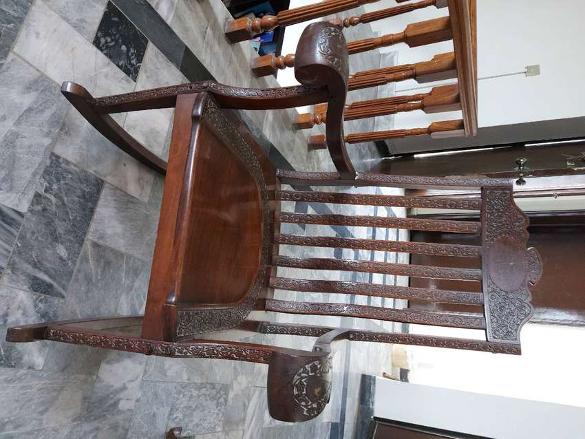 Solif wood rocking chair, four year old