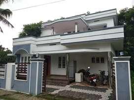4 cent 1700 sqft 3 bhk house at paravur mannam main road 100 mtr