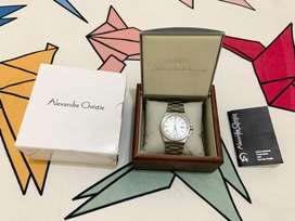 JAM TANGAN PRIA ALEXANDRE CHRISTIE 8432MD SILVER Limited