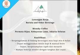 Lowongan Kerja Barista and Other Beverage