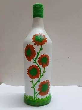 Home decor bottles