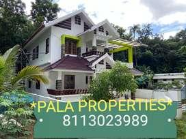 BRAND NEW HOUSE SALE IN PALA BHARANAGANAM NEAR NRI OWNED POSH HOUSE