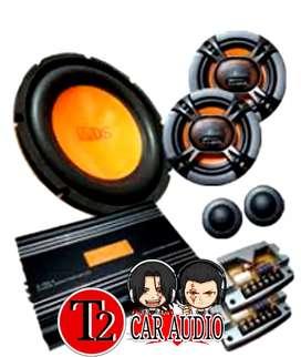 Paketan audio a/d/s komplit dengan bonus LED