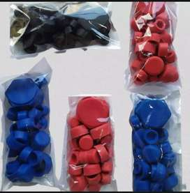 Motor bike Rubber Nut covers for CD70 And 125 Universal