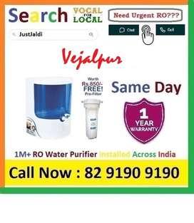 Vejalpur RO Water Purifier Water Filter dth 9L bed L - car    Click  t
