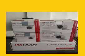 New branded HIKVISION CCTV Camera Kit available