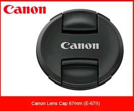 Tutup lensa Canon ukuran 67mm / Lenscap / for lens 18-135mm