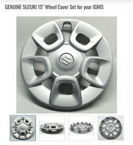 "Maruti Suziki Orignal 15"" Wheel Covers"