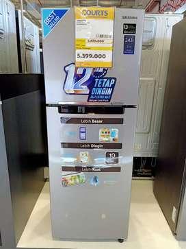 Kulkas Samsung 2 pintu 234L promo cicilan bunga bisa 0%