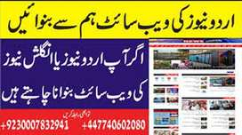 I will create urdu newspaper, magazines website fully responsive