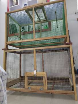 birds Cage ( AAnjil Wood ) ALUVA