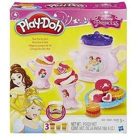 play doh tea party set princess