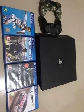 PS4 PRO 1tb cuh 7000B original