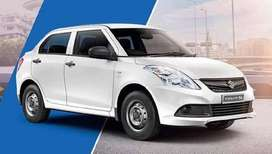 Swift Dzire Tour available in T Permit with fix business