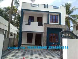 6 cent plot with 2400 sq.ft 4BHK house in umayanalloor