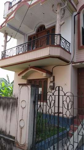 10 years Old double storied house to sale