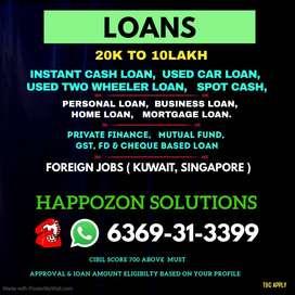USED CAR LOAN * > HOME LOAN * > BUSINESS LOAN * > PERSONAL LOAN