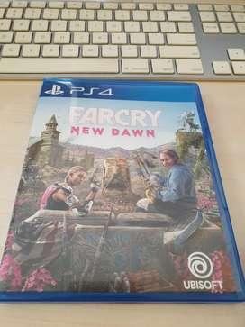BD PS4 Far Cry New Dawn Reg3