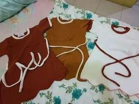Baju anak 6 bulan sd 1 tahun ( 3 pc )