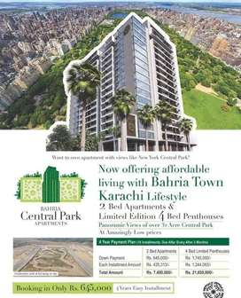 Bahria Central Park Apartments, 1200 Sq Ft Flats
