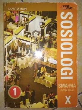 Sosiologi Kelas 1 SMA KTSP 2006 Penerbit Erlangga