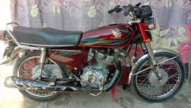 Honda 125 fresh condition complete documents fsd number