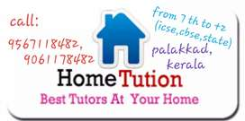 TUITION CLASSES AT YOUR HOME