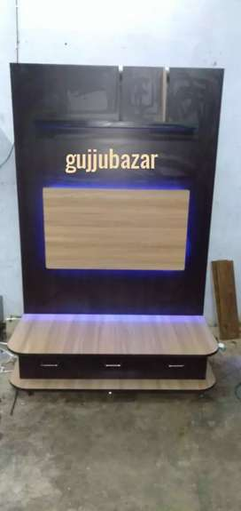 Wall tv unit 6x4 with led lights