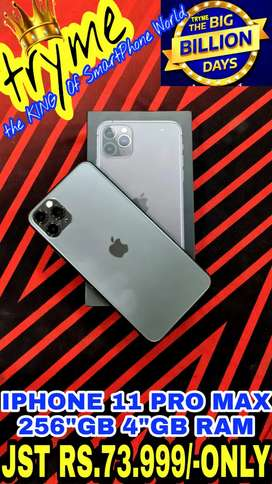TRYME 256GB IPHONE 11 PRO Max Full Kit Box Brand New Conditions