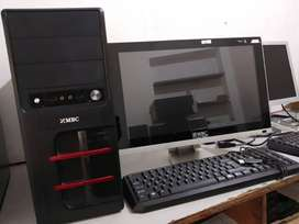 HOME AND SHOP USED COMPUTER - CORE 2 DUO - 2 GB RAM - 500 GB HDD 19LED