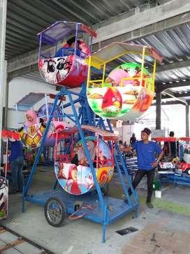 Jual kincir mini isi 4kereta panggung odong asli pabrik RAA