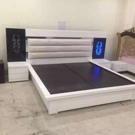 New modular bed plywood Sameer furniture 48