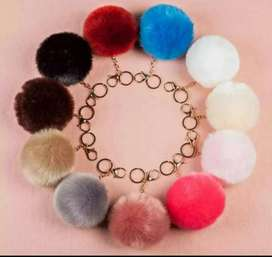Furr Keychain For Girls Premium Quality