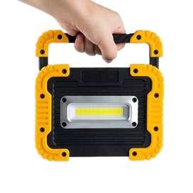 Senter LED Lantera Camping COB 750 Lumens 10W + Powerbank 4400mAh