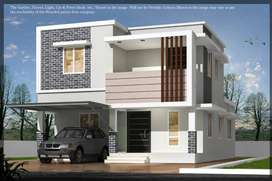 Close to 5th mile Junction - Gated Community Villa Project in Palakkad