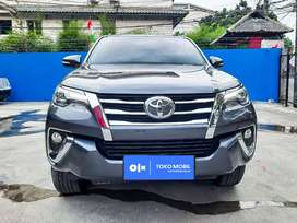 [OLX Autos] Toyota Fortuner VRZ 2017 2.4 A/T Diesel Abu-abu #TokoMobil